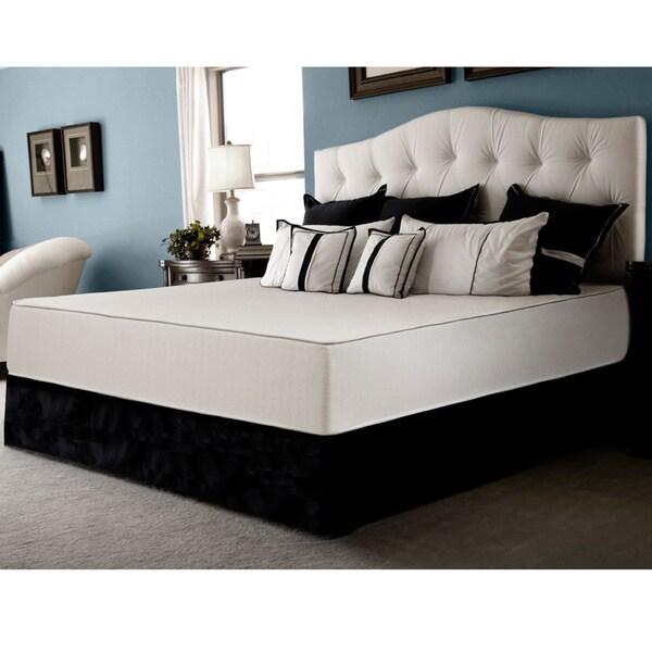 Select Luxury Flippable Firm 10-inch Twin-size Foam Mattress