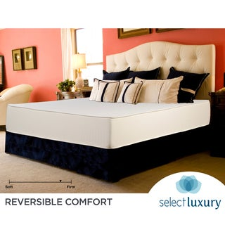 Select Luxury Reversible Firm 10-inch Twin-size Foam Mattress