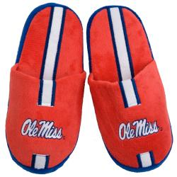 Ole Miss Runnin Rebels Striped Slide Slippers