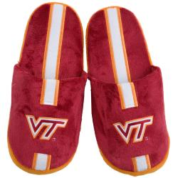NCAA Virginia Tech Hokies Striped Slide Slippers