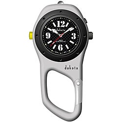 Dakota Men's Military Mini Clip Watch