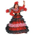 Dress Up America Girl's Flamenco Dancer Costume