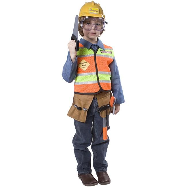 Dress Up America Boys' Construction Worker Costume
