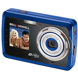 Bell & Howell 12MP Blue 2-view Digital Camera