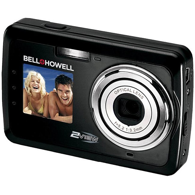 Bell & Howell 12MP 2-view Black Digital Camera