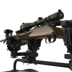 ATV Tek FlexGrip Pro Double Gun and Bow Rack