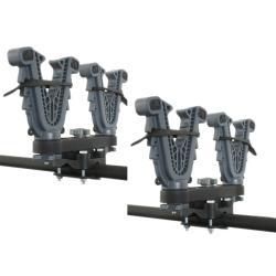 ATV Tek V-Grip Double Gun and Bow Rack