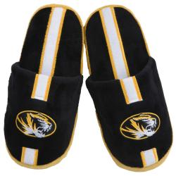 Missouri Tigers Striped Slide Slippers