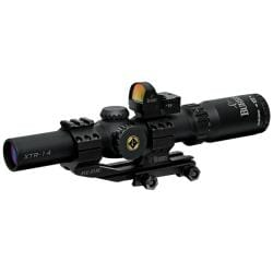 Burris 1-4x24 Xtreme Tactical Rifle Scope and FastFire II Reflex Sight