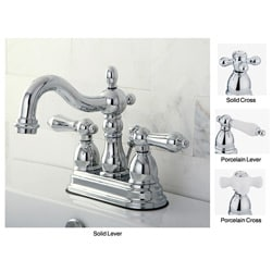 Heritage Chrome 4-inch Center Bathroom Faucet