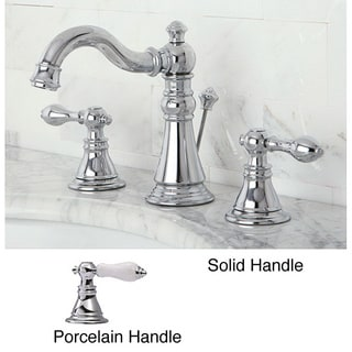 American Patriot Widespread Chrome Bathroom Faucet