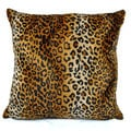 Cheetah Euro Pillow