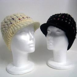 Wool and Cotton Hand-woven Beanie (Nepal) (Refurbished)
