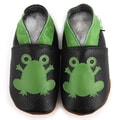 Baby Pie Frog Prince Leather Boy's Shoes