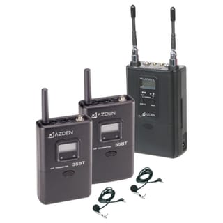 Azden 330LT Dual-Channel Wireless Microphone System