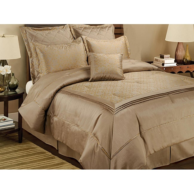 Crystal Orbit 7-piece Queen Comforter Set
