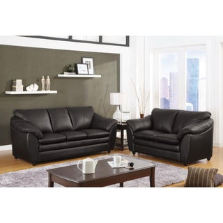 Rene Leather Sofa or Loveseat