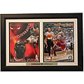 'Then and Now' Chicago Bulls Ben Gordon/ Michael Jordan Framed Photo
