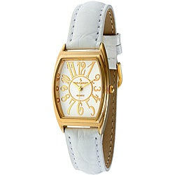 Peugeot Women's Leather Strap Watch