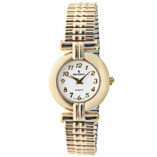 Peugeot Women's Goldtone Brass Expansion Watch