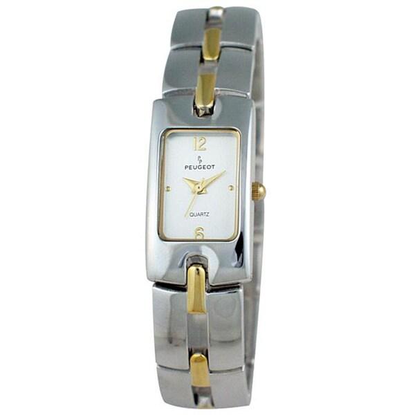 Peugeot Women's Goldtone Bracelet Watch