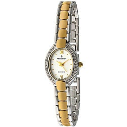 Peugeot Women's Two-tone Diamond-accented Watch