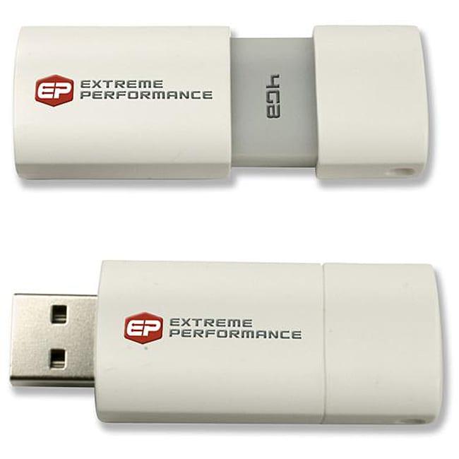 EP 4GB USB White Flash Drive