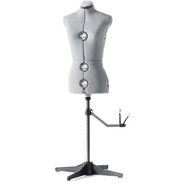 Singer Gray Medium Adjustable Dress Form