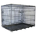 GoPetClub Divider and 2-door 30-in Folding Dog Crate