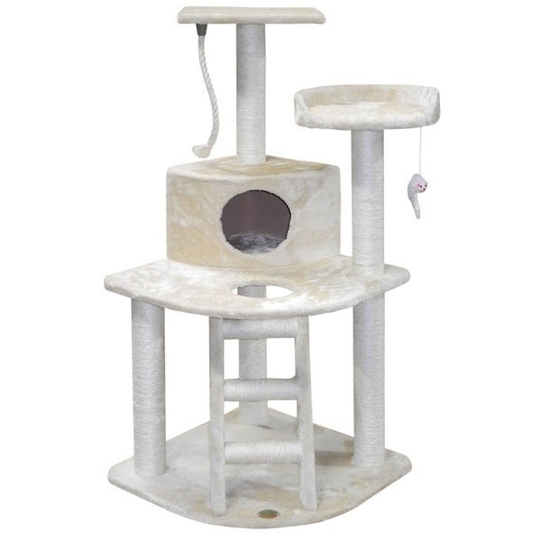 GoPetClub 48-inch Cat Tree House