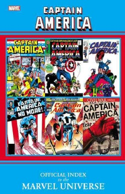 Captain America: Official Index to the Marvel Universe (Paperback)