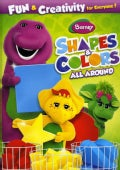 Barney: Shapes & Colors All Around (DVD)