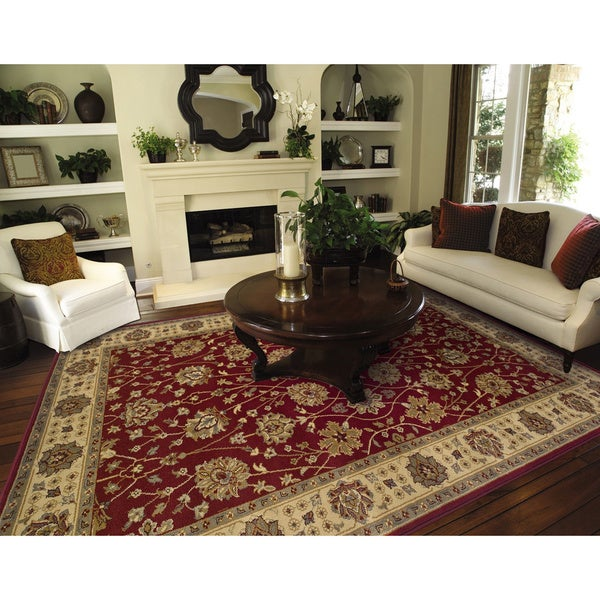 Red Oriental Rug (3'2 x 5'5)
