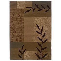 Gold Geometric Rug (5' x 7'6)