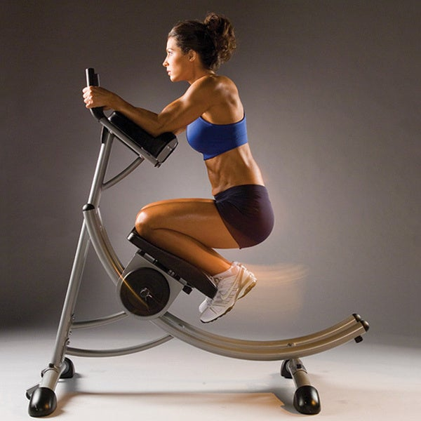 Madison Fitness Gloves: Ab Coaster PS500 Exercise Machine