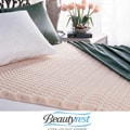 Beautyrest Convoluted 3-zone Twin-size Foam Mattress Toppers (Pack of 3)