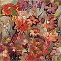 Joan Elan Davis 'Garden of A Joyful Day' Gallery-wrapped Canvas Art