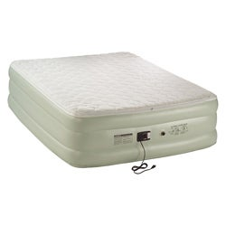 Coleman QuickBed Queen High Removeable Pillow Top Airbed