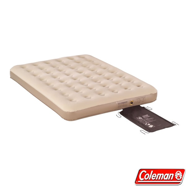 Coleman QuickBed Queen-size Suede-top Airbed Inflatable Mattress