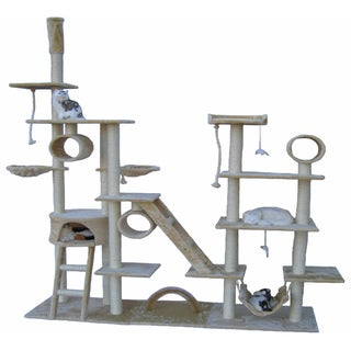 Go Pet Club Huge Gym Cat Tree Condo House Pet Furniture