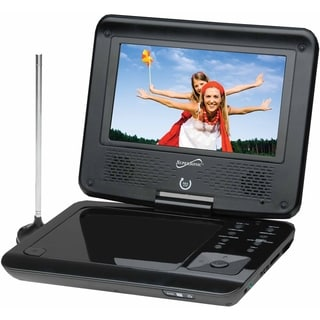 Supersonic SC-257 Portable DVD Player - 7