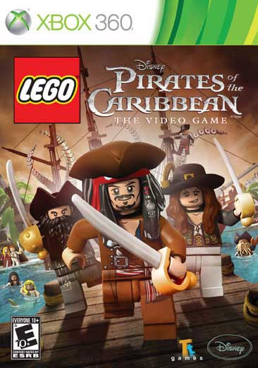 Xbox 360 - Lego Pirates of the Caribbean