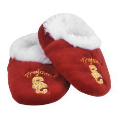 USC Trojans Baby Bootie Slippers