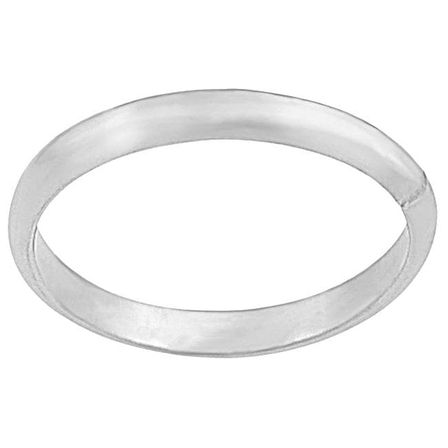 Journee Collection Sterling Silver 2-mm Children's Band