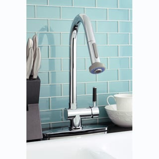 Kaiser Single-handle Pull-out Chrome Kitchen Faucet