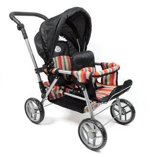 "Doll Twin Stroller for 18"" and Smaller Dolls"