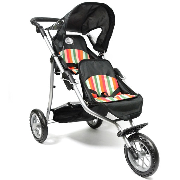 Doll Twin Jogging Stroller