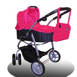 New York Doll Collection 2-in-1 Bassinet/ Single Stroller