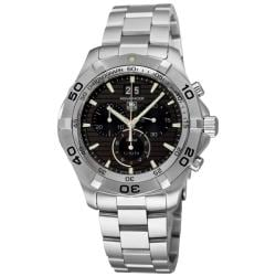 Tag Heuer Men's CAF101E.BA0821 'Aquaracer' Stainless Steel Chronograph Watch