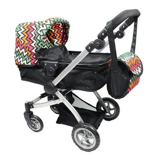 New York Doll Collection Bassinet Stroller
